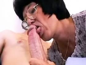 Brunette mature with hairy cunt fucked and gets cum