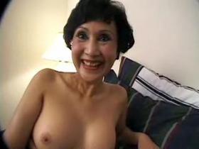 Lovely mommy gets screwed and then cum blasted