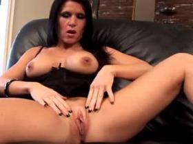 Brunette milf with killer tight body gets hammered