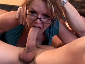 Dirty milf in high boots fucking like crazy
