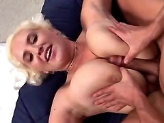 Mom with amazing big tits goes wild