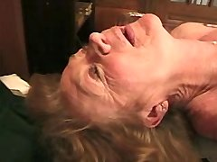 Depraved grandmom does hot blowjob and has fuck