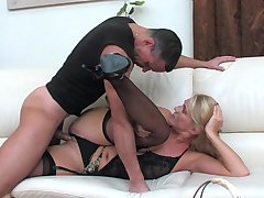 Bridget&Connor raunchy mature action