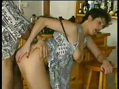 Party slut fucked in front of small crowd