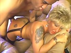 Tattooed mom gets cock in deep cunt