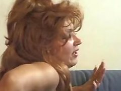 Horny mature sucks n fucks on sofa