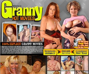 Granny Hot Movies - All This Horny Granny Wants Ia A Nice Hard Cock Up Her Pussy