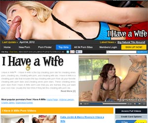 I Have A Wife - porn site for cheating wives porn